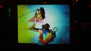 Fusion Festival 2014 VJ set at Kino Hangar Screens